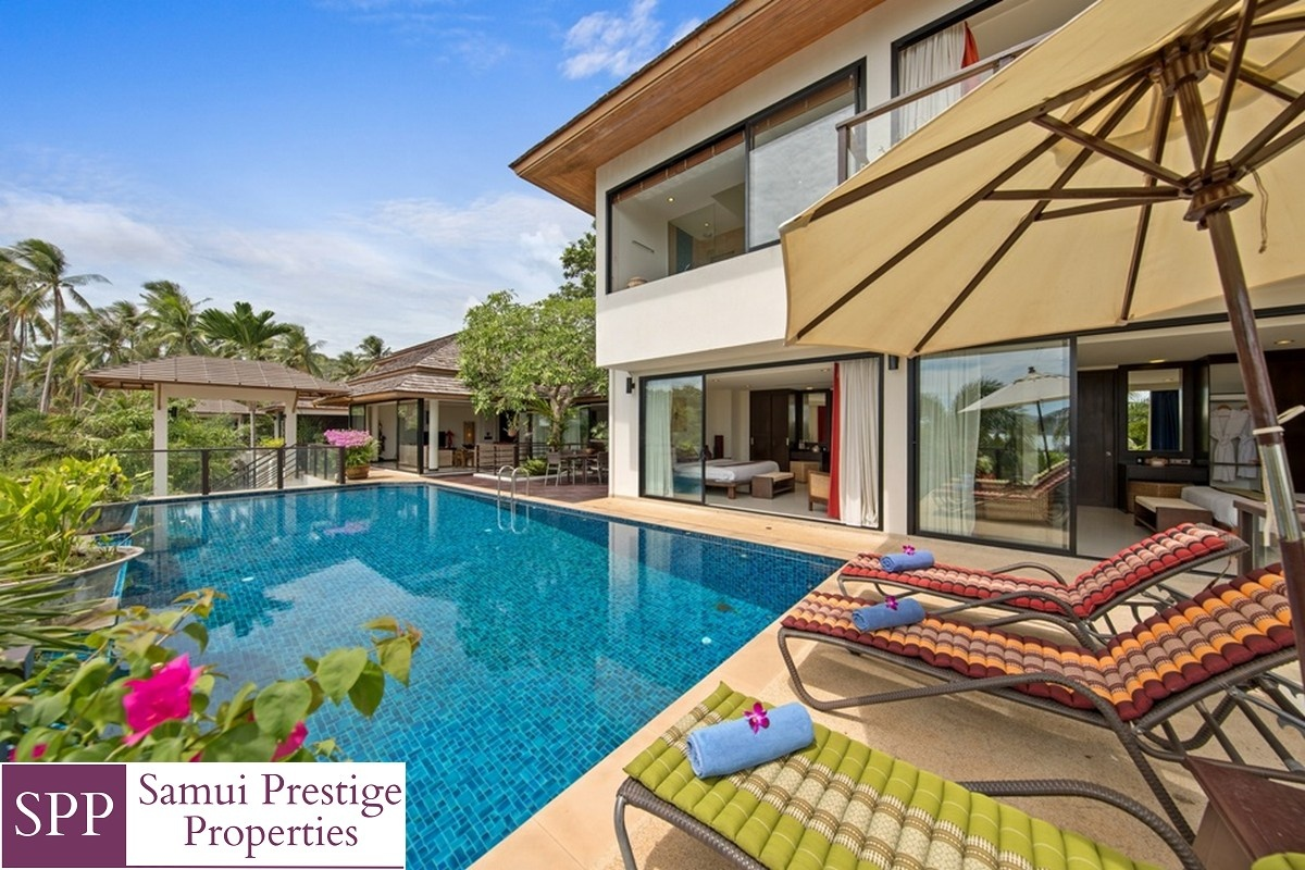 4 Bedroom Villa,4 Bathrooms Bathrooms, Bophut, Koh Samui, Thailand